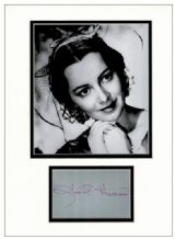 Olivia de Havilland Autograph Signed - Gone With The Wind
